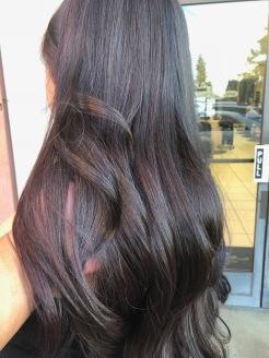 Balayage contouring hair painting