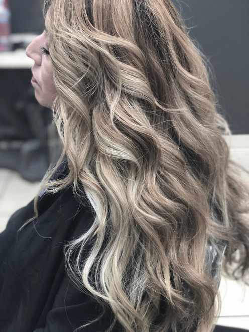 Balayage color 2018-Hair colorist Martin Rodriguez