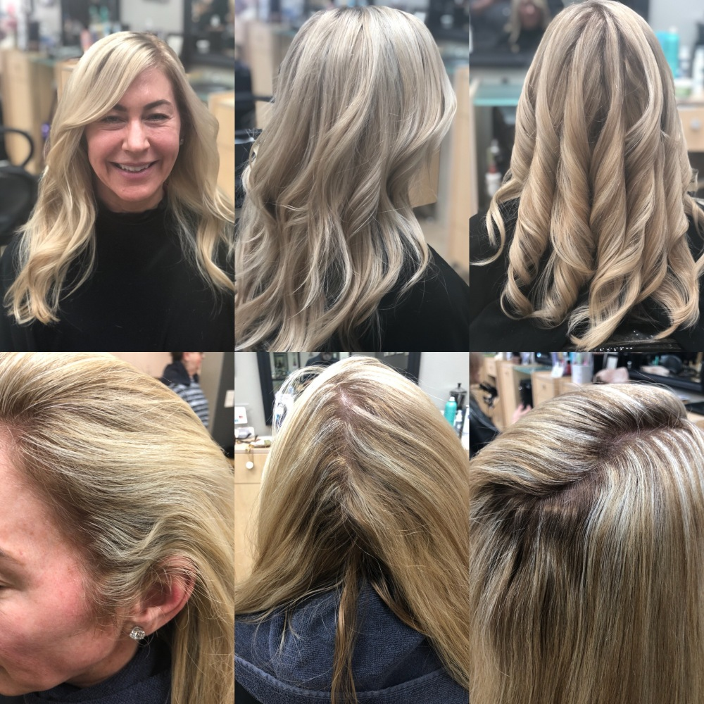 before and afters on hair color correction 2018